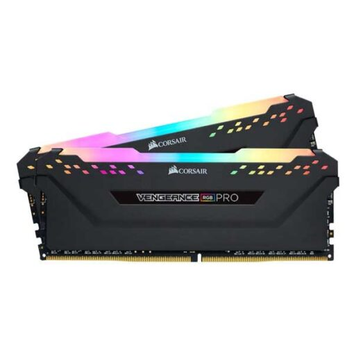 رم کامپیوتر کورسیر 3200 مگاهرتز VENGEANCE RGB PRO ظرفیت32 گیگابایت( CL16 (2×16